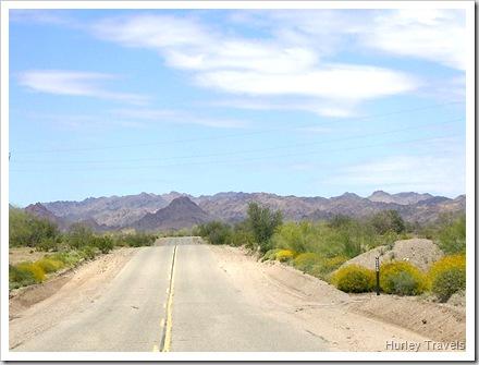 SR 78 heading to Blythe, CA