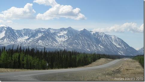 Icefields of the Kluane Mountain Range, Yukon Territory