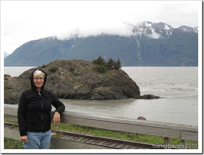 Beluga Point on Turnagain Arm, Seward Highway, Alaska