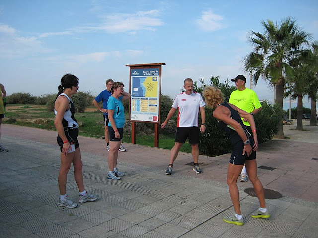 training op Palma de Mallorca