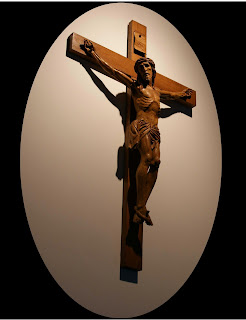 Jesus alone on the cross