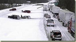 I-64 snow strom 2004
