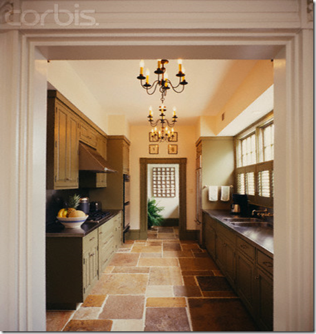 This southern girls nest for Corridor galley kitchen