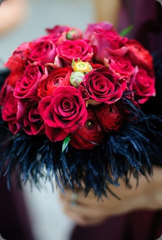close-up-bridesmaids-bouquet michelle rago