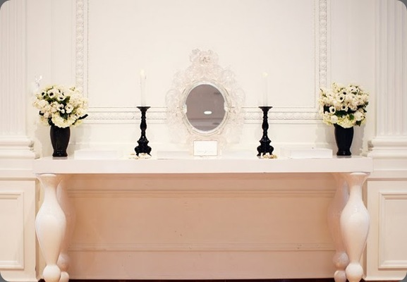 Web Chanel Adorn Table heavenly blooms