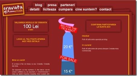 Tie Advertising Space