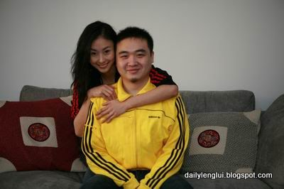 Zhai Ling with ex-bf Yangdi