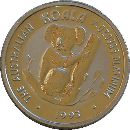 platynowa moneta