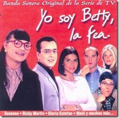 banda sonora - yo soy betty la fea (front)