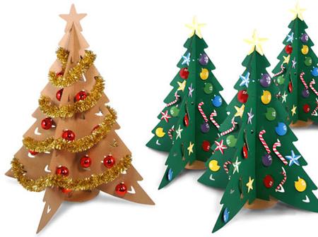 Всичко от всичко за празниците. - Page 5 Cardboard-christmas-tree1