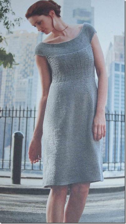 Grå-kjole