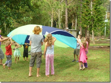 42 camp parachute