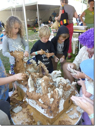14  kids clay workshop