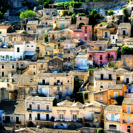 Modica by Pieter Arnolli - City,  Street & Park  Historic Districts ( europe, modica, travel, italy, sicily, city )
