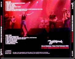 Whitesnake Budokan 83 back