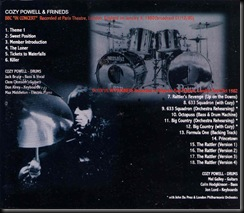Cozy Powell Killer Back