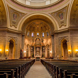 Magnificent Cathedral  by Bill Kuhn - Buildings & Architecture Places of Worship ( church, cathedral, architecture, worship, st. paul )