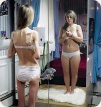 como o anoréxicos se veem