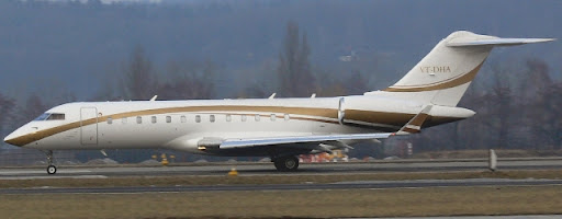 Reliance Industries Bombardier BD-700-1A10 GE VT-DHA