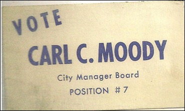carl for city manager