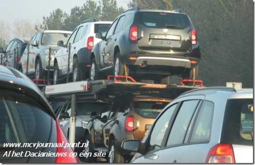 Dacia Duster op transport 01