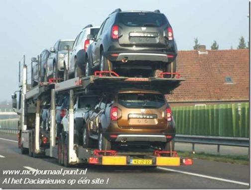 Dacia Duster op transport 04