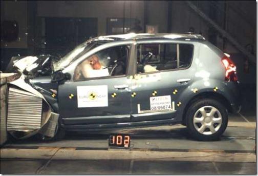 Euro NCAP Crash Sandero
