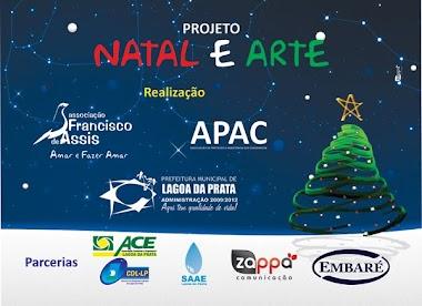 Natal Ecológico em Lagoa da Prata