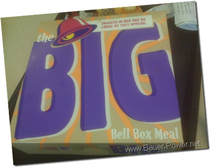 Tacobell Bigmouth Meal