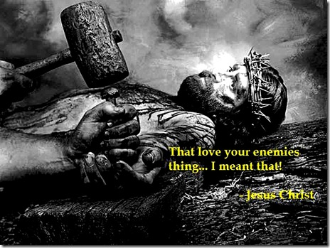 Jesus - Love Your Enemies lg