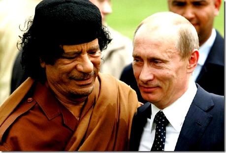Qaddafi & Putin