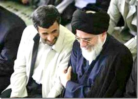 Khamenei-Ahmadinejad-June 09