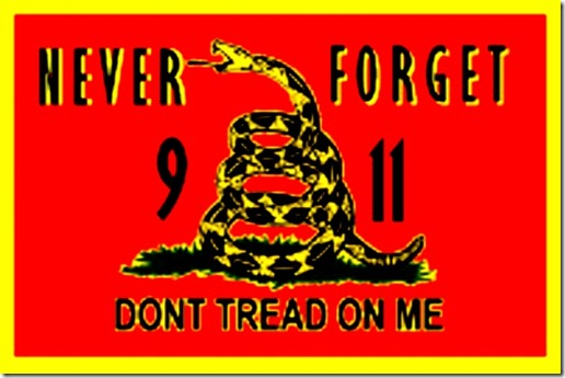 NEW GADSDEN Flag never forget 911