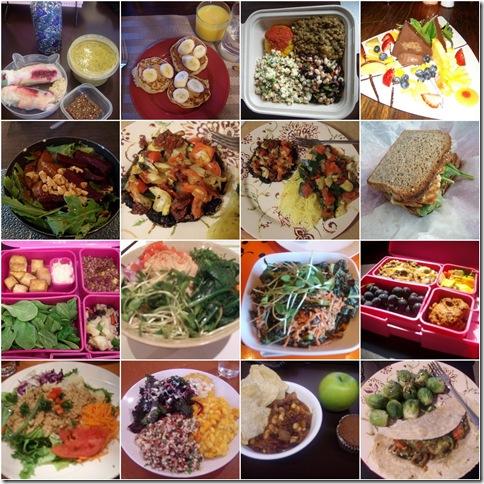 Food mosiac