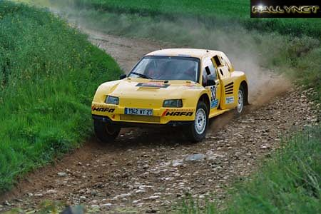 Alain Sinégre et Julien Rivière - Proto Rivet 4x4 V8 Porsches