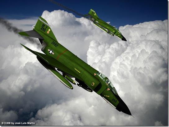 McDonnell Douglass F-4 Phantom II fr