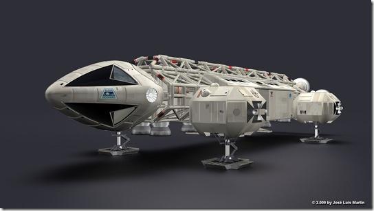 SPACE 1999 EAGLE MODULE 001
