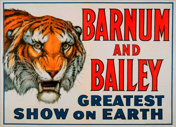 Barnum and Bailey - Greatest Show on Earth