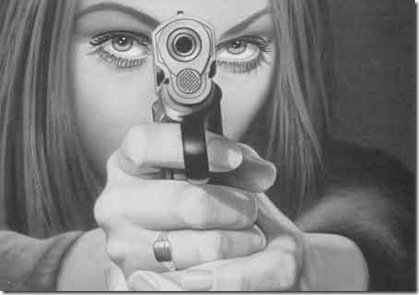 Expat Wife with a Gun