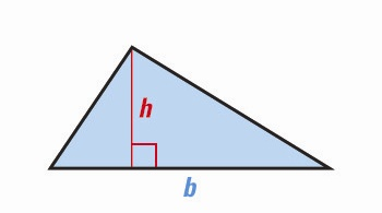 triangle <!  :en  >Measurements, Geometric shapes, Area and Volume Formulas<!  :  > english through pictures mathematic vocabulary