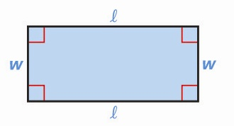 rectangle <!  :en  >Measurements, Geometric shapes, Area and Volume Formulas<!  :  > english through pictures mathematic vocabulary