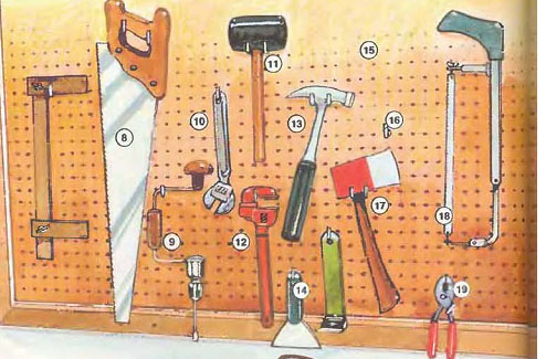 carpentry workshop tools list 2