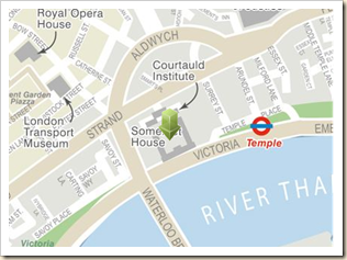 Somerset House map