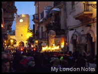 Taormina Easter Celebrations