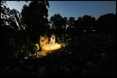 The Open Air Theatre - by Londontown