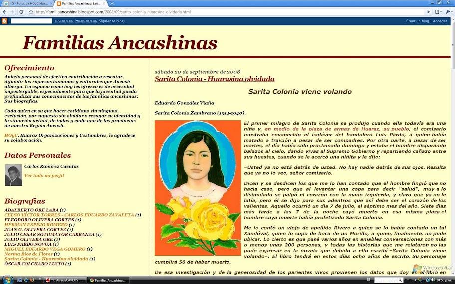 Familias Ancashinas.