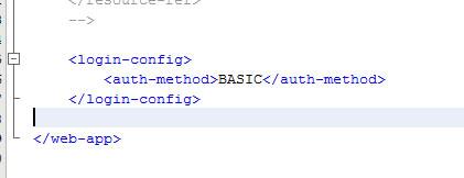 Configuración de web.xml
