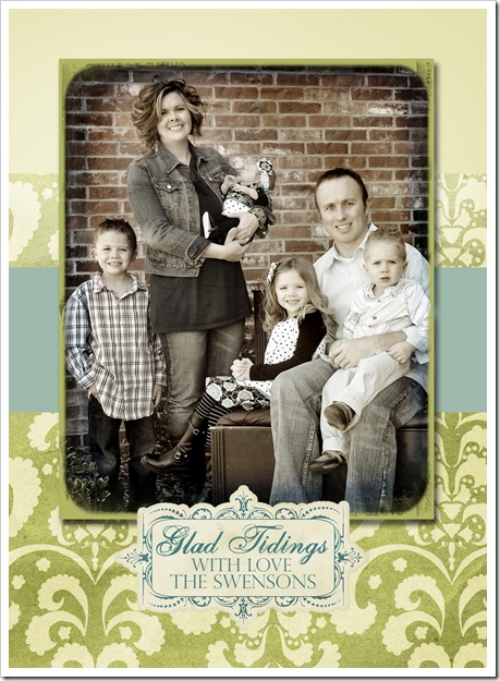family card 2009