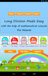 Long Division Games Pro - screenshot