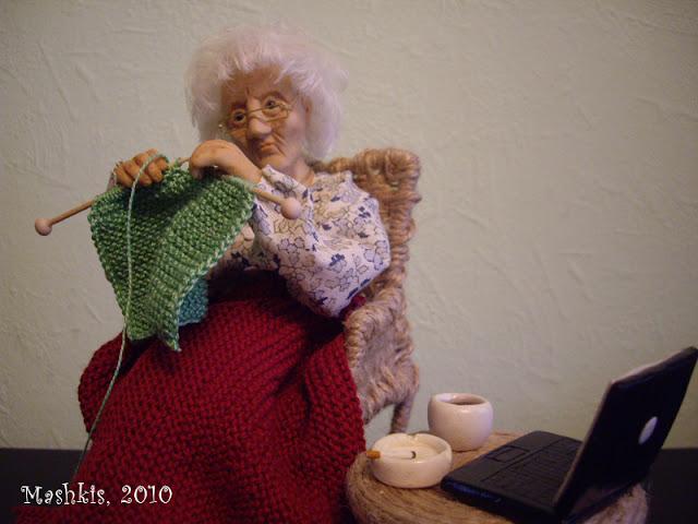 Подарок для бабушки - Все в ажуре. (вязание крючком) - Страна 26